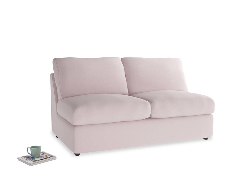 Chatnap Storage Sofa in Dusky blossom washed cotton linen