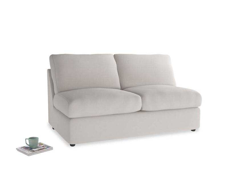 Chatnap Storage Sofa in Lunar Grey washed cotton linen