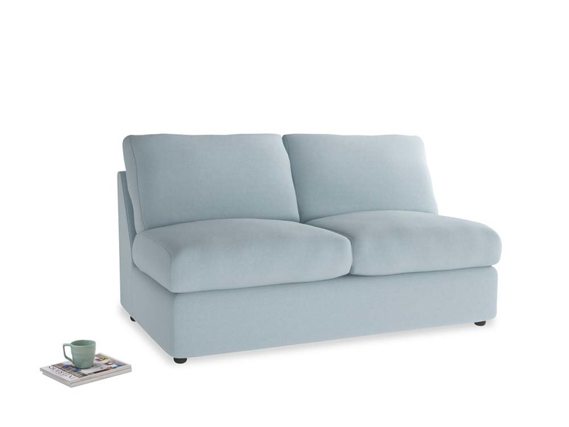 Chatnap Storage Sofa in Soothing blue washed cotton linen