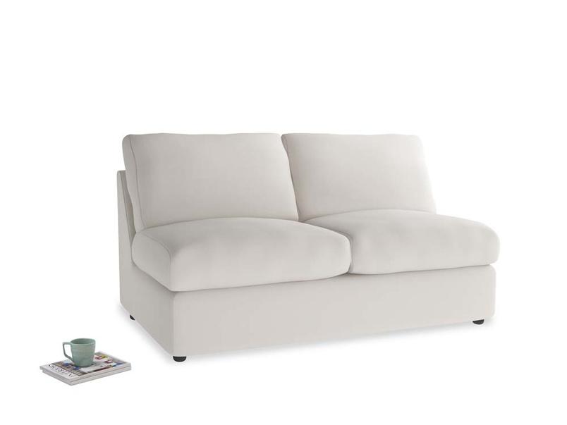 Chatnap Storage Sofa in Chalk clever cotton
