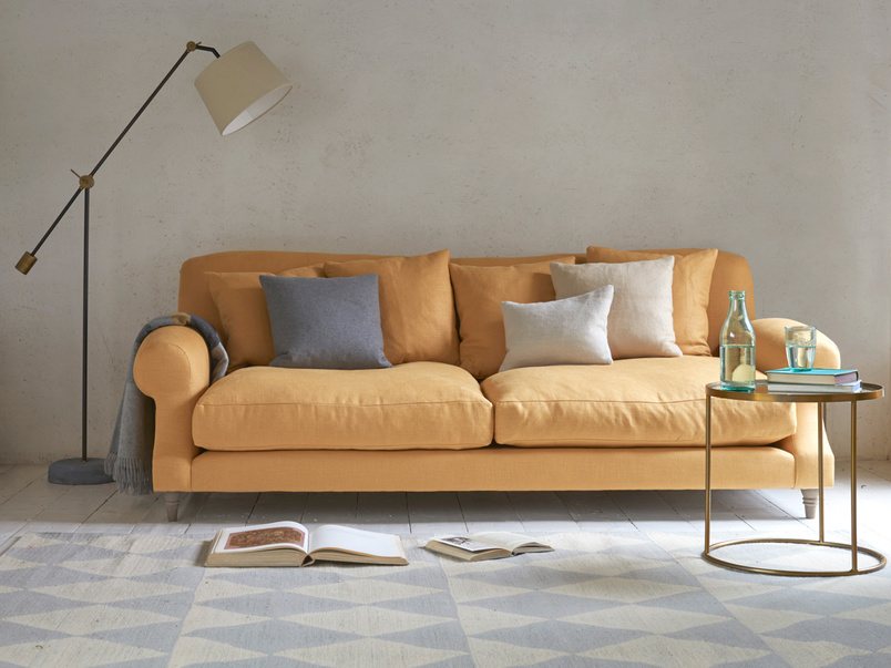 Extra deep and comfy Crumpet british made sofa