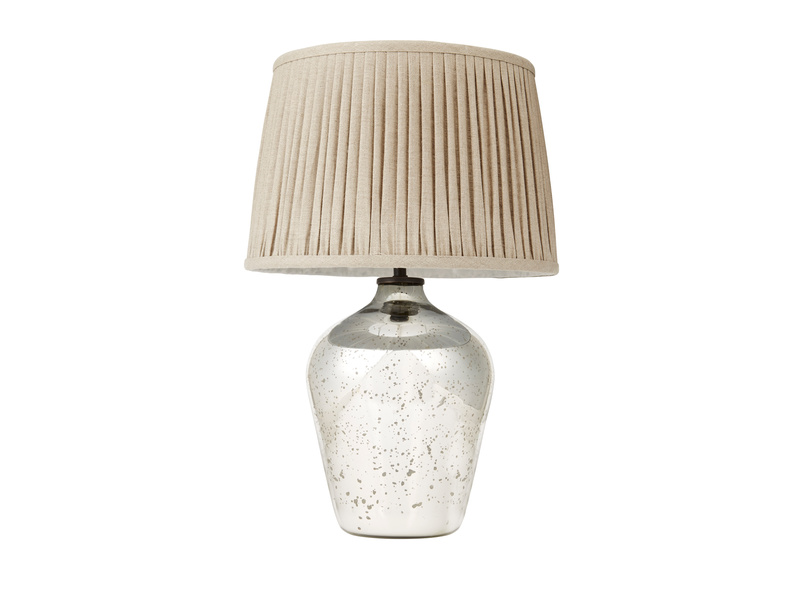 Small Brekka mercury table lamp
