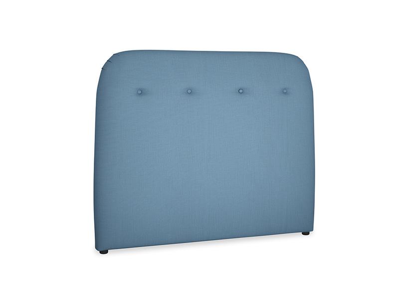 Double Napper Headboard in Easy blue clever linen