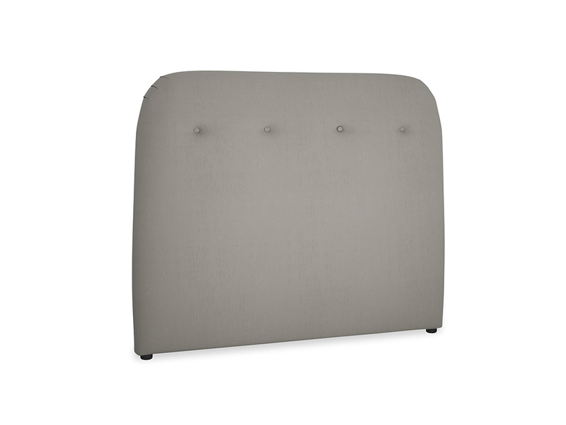 Double Napper Headboard in Monsoon grey clever cotton