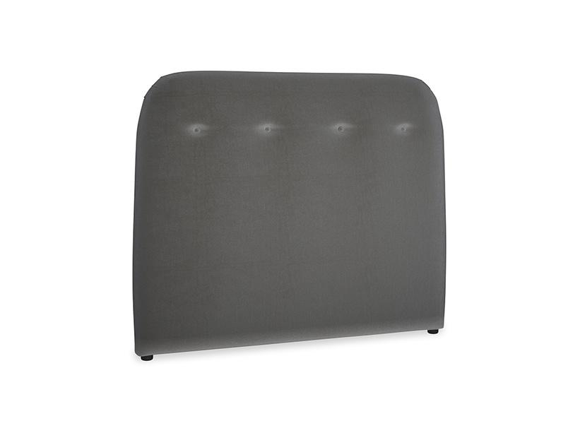 Double Napper Headboard in Steel clever velvet