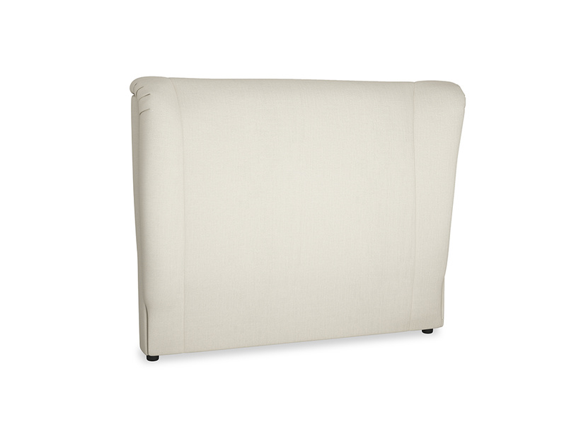 Double Hugger Headboard in Pale rope clever linen