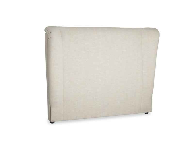 Double Hugger Headboard in Thatch house fabric