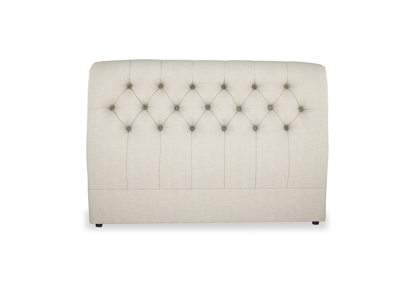 Dozer curved button back headboard