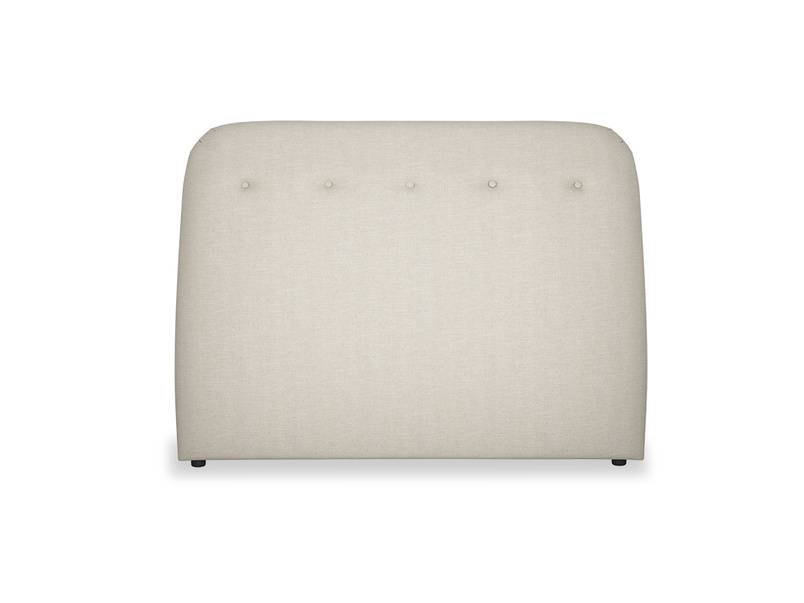 Napper contemporary button back headboard