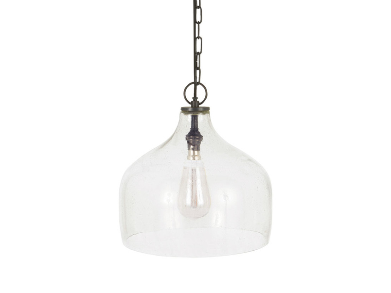 Medium Cowbell hanging bell shaped pendant light