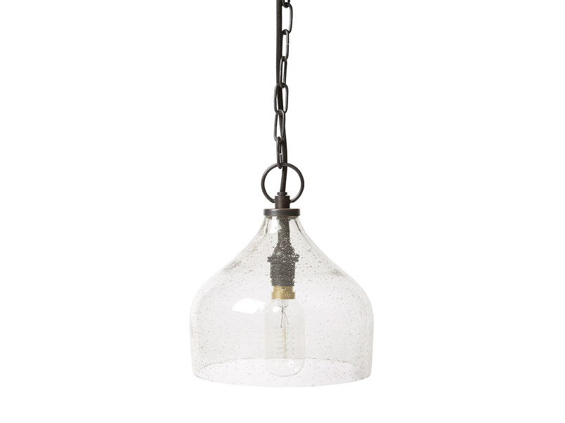 Small Cowbell Pendant light