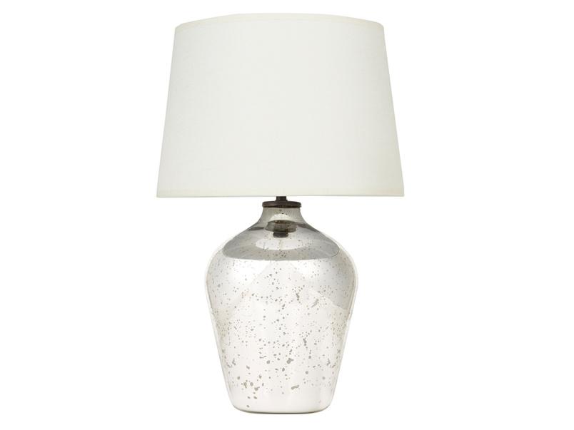 Small Brekka Table Lamp with Natural Hessian shade