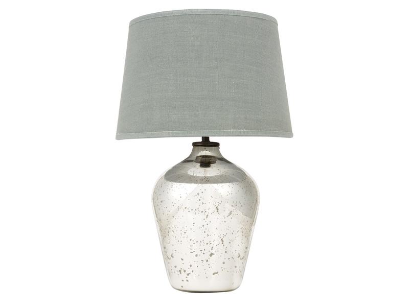 Small Brekka Table Lamp with Sea Salt shade