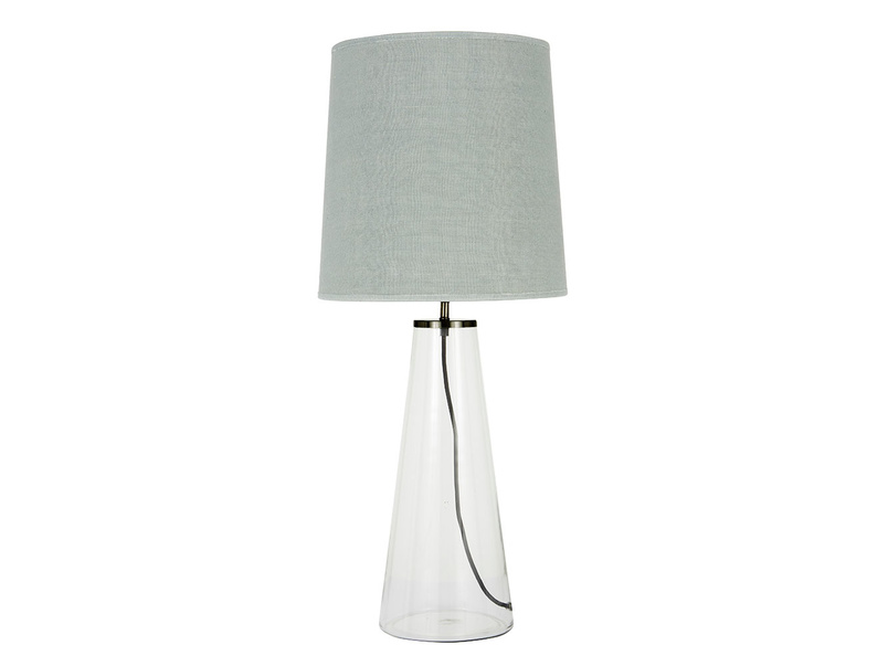 Shardy Table Lamp with Sea Salt shade