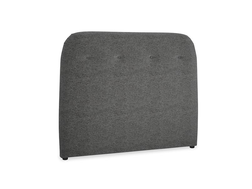 Double Napper Headboard in Shadow Grey wool