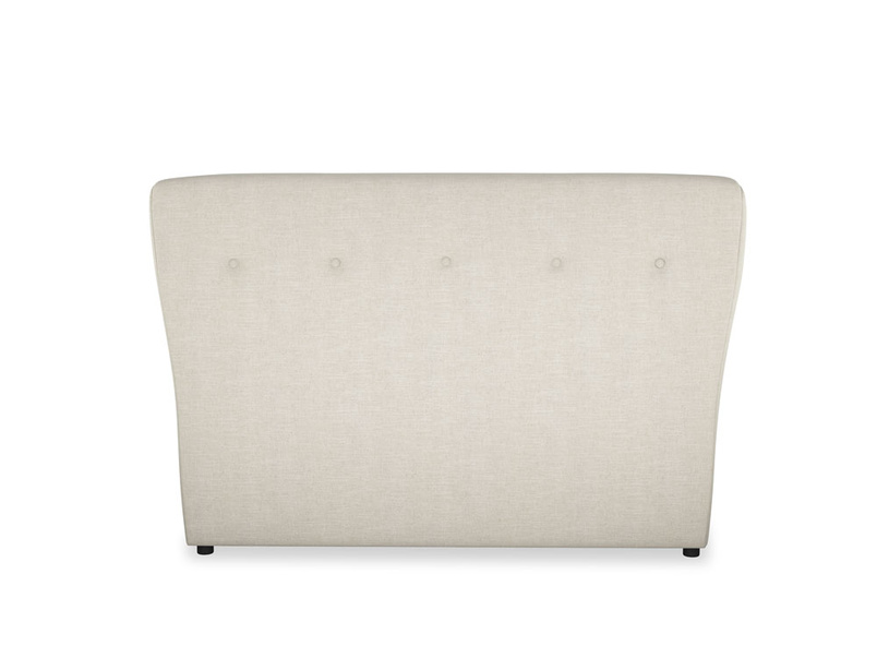 Wall-mounted upholstered Smoke headboard