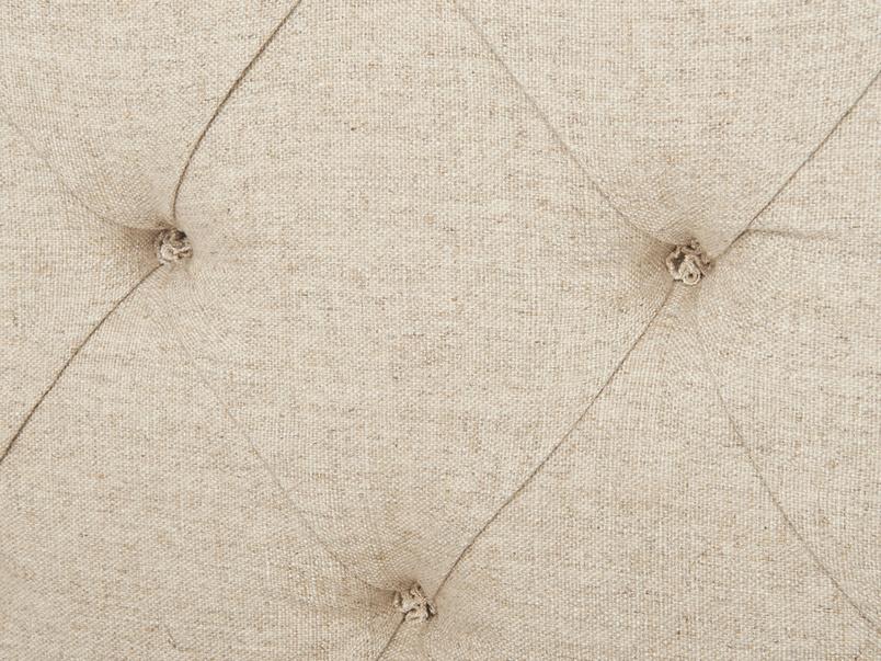 Contemporary handmade upholstered Billow headboard