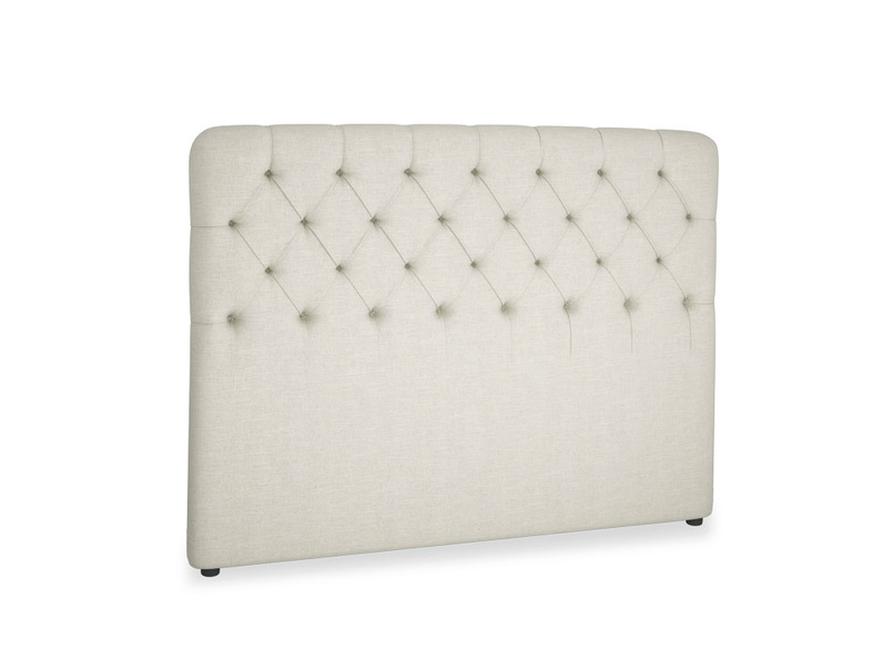 Contemporary buttoned Billow stylish handmade headboard