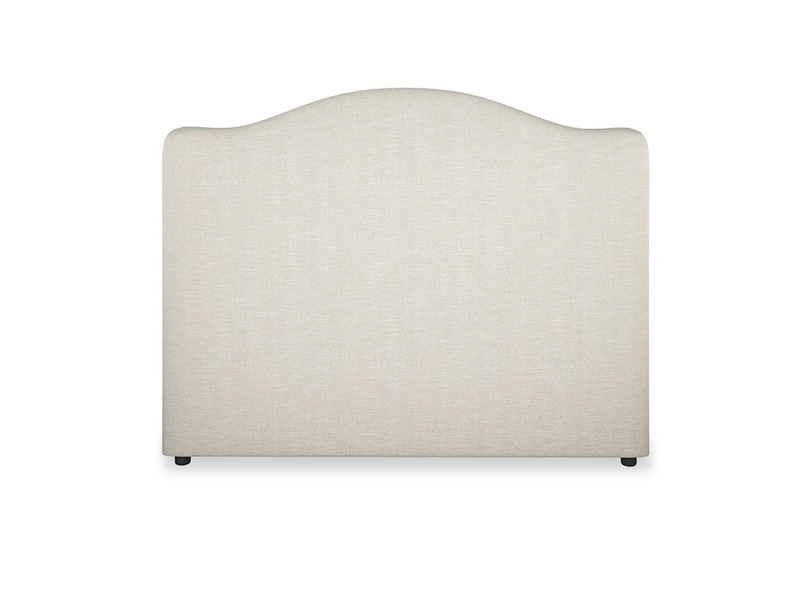 French upholstered handmade Luna headboard
