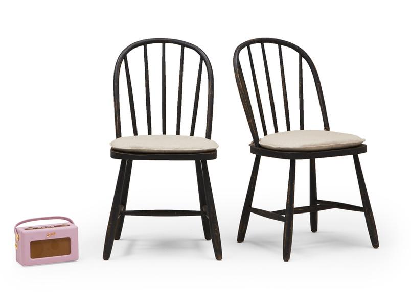 Pair of Chortler kitchen chairs