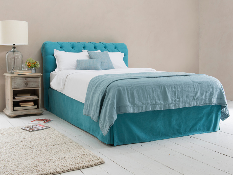 Space contemporary divian luxury British made bed