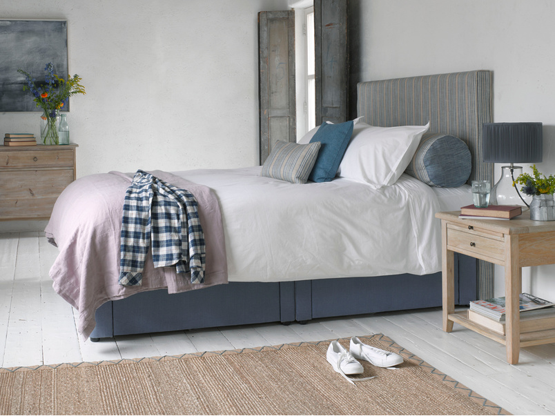 Contemporary luxury divian Tight Space storage bed