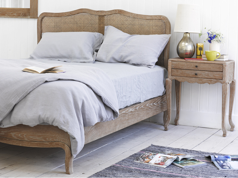 Lazy Linen bedding is made in beautiful linen