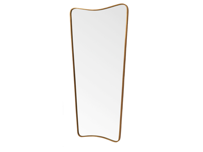 Full length Top Brass vintage style retro mirror