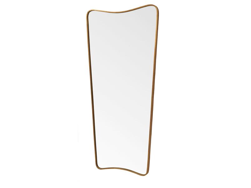 Full length Top Brass vintage style retro mirror