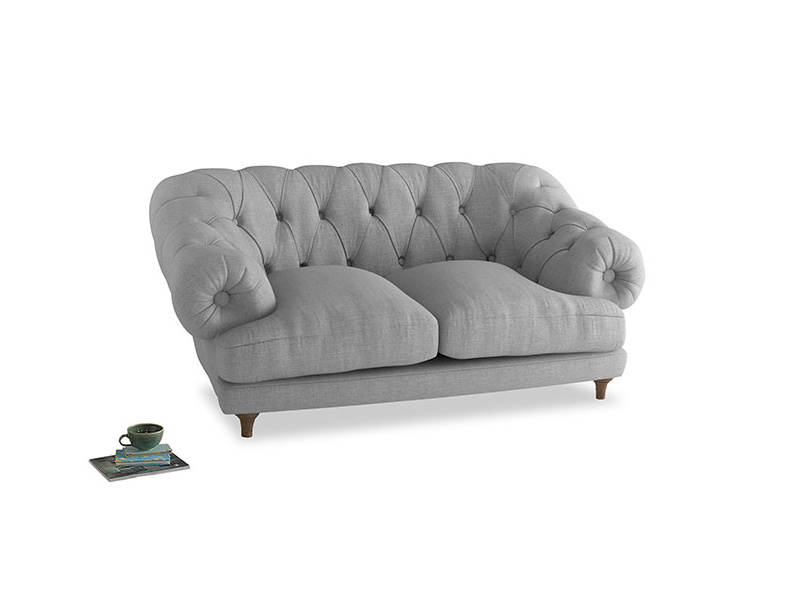 Small Bagsie Sofa in Cobble house fabric