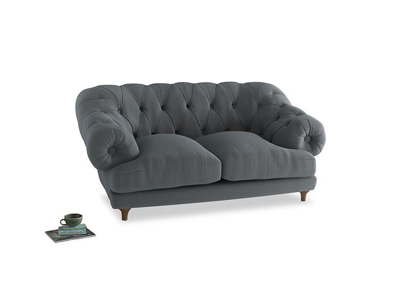 Small Bagsie Sofa in Dusk vintage linen