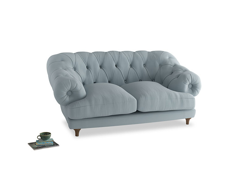 Small Bagsie Sofa in Scandi blue clever cotton
