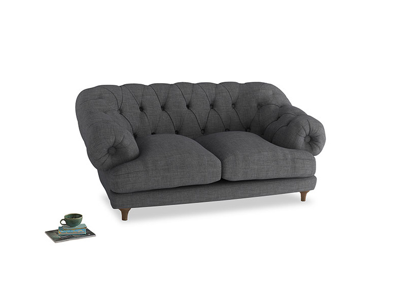 Small Bagsie Sofa in Strong grey clever woolly fabric