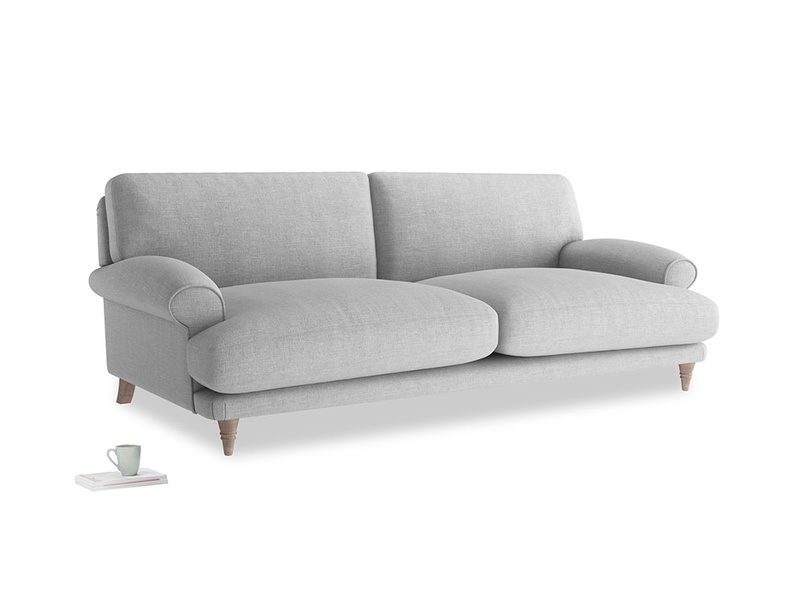Large Slowcoach Sofa in Cobble house fabric