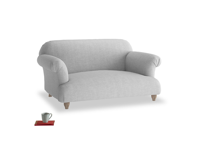 Small Soufflé Sofa in Cobble house fabric