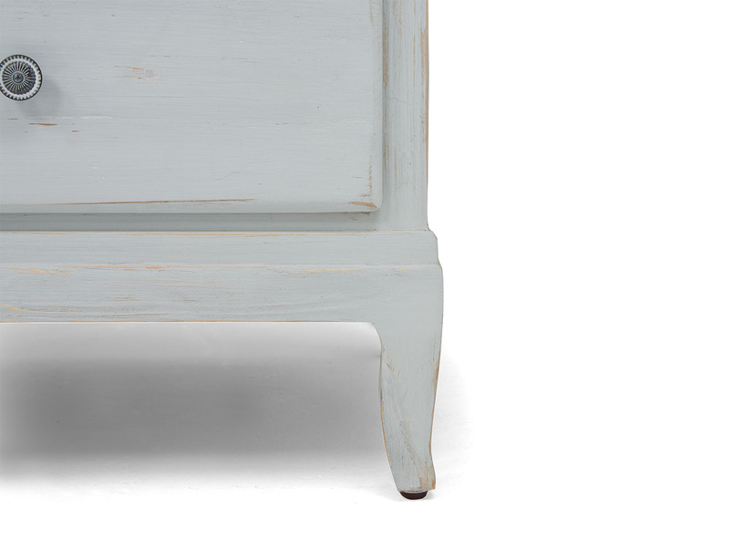 Flutterby vintage white wardrobe