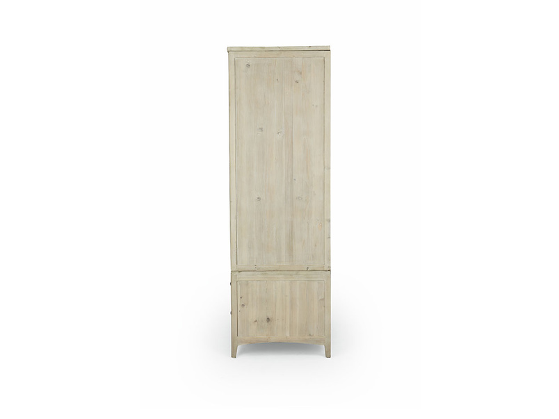 Swash tongue and groove wardrobe