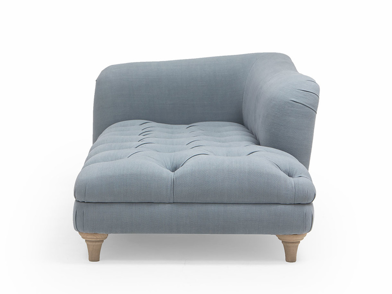 Slumber Jack upholstered button base chaise longue