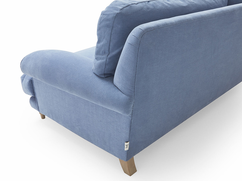 Slowcoach deep seated upholstered British made armchair