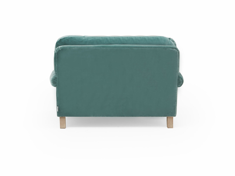 Slowcoach love seat with deep seat