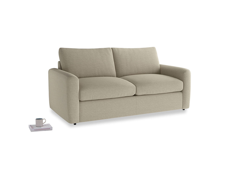 Chatnap Storage Sofa in Jute vintage linen with both arms