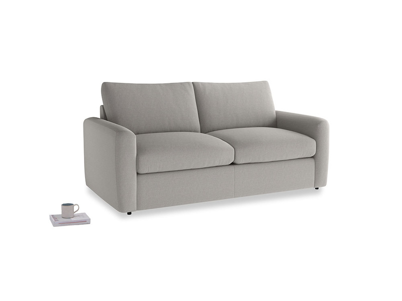 Chatnap Storage Sofa in Wolf brushed cotton with both arms