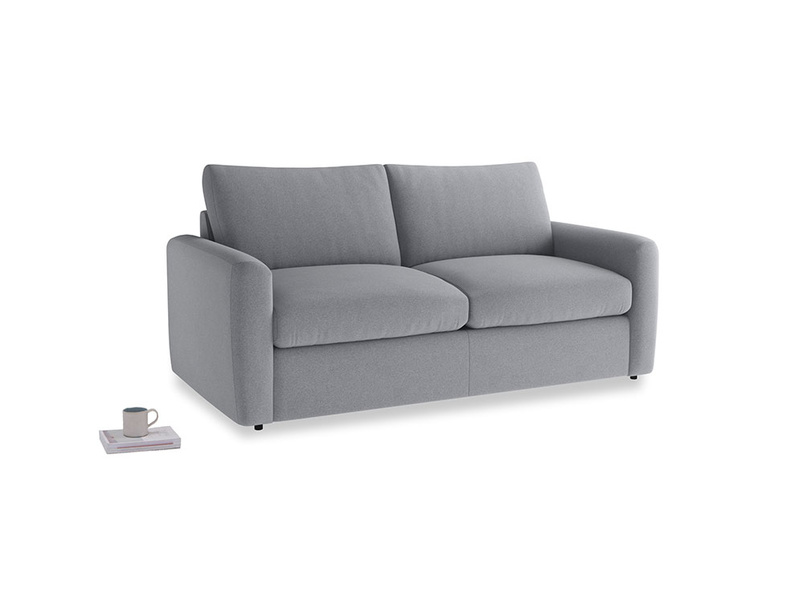 Chatnap Storage Sofa in Dove grey wool with both arms