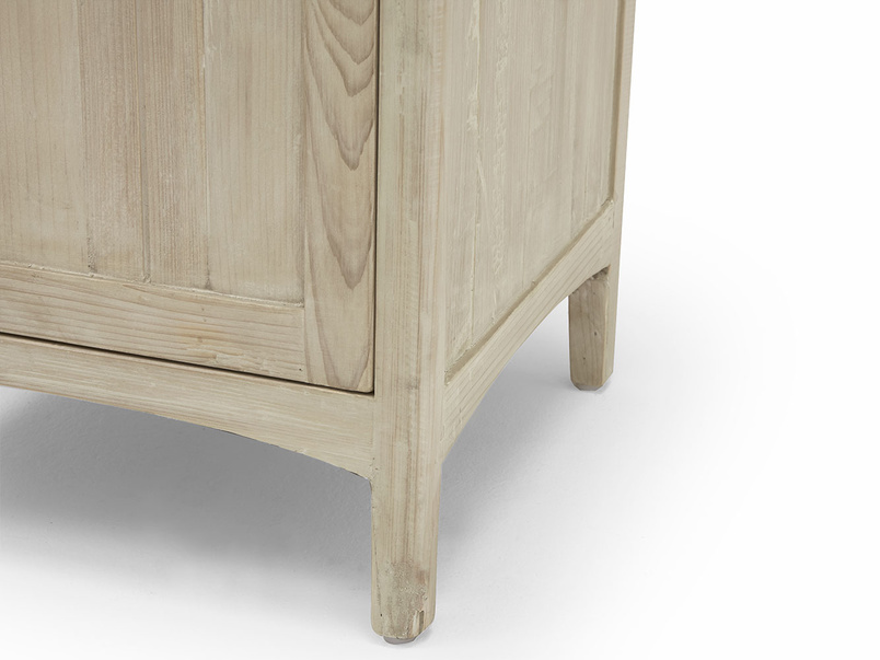 Stowaway tongue and groove bedside table