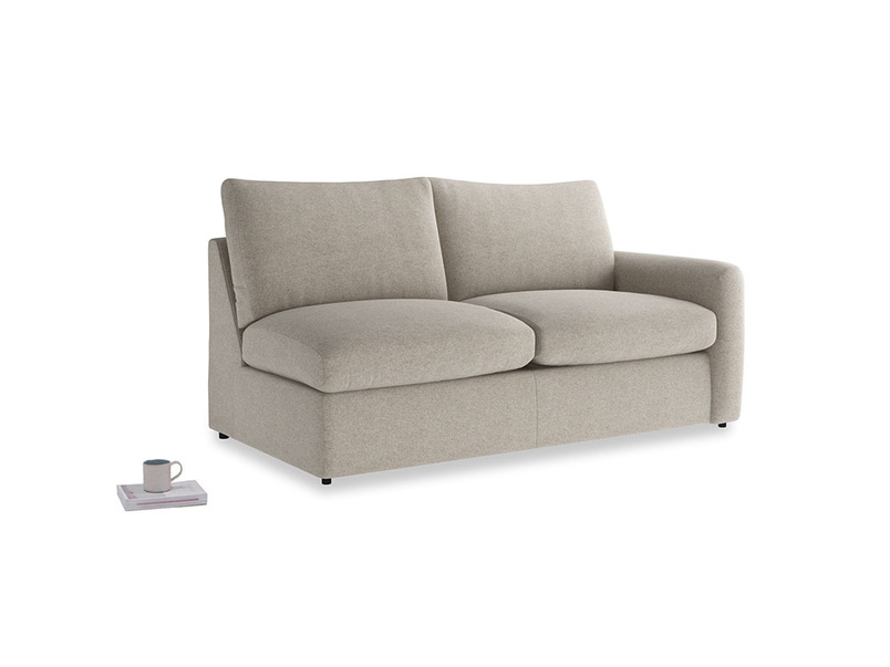 Chatnap Storage Sofa in Birch wool with a right arm