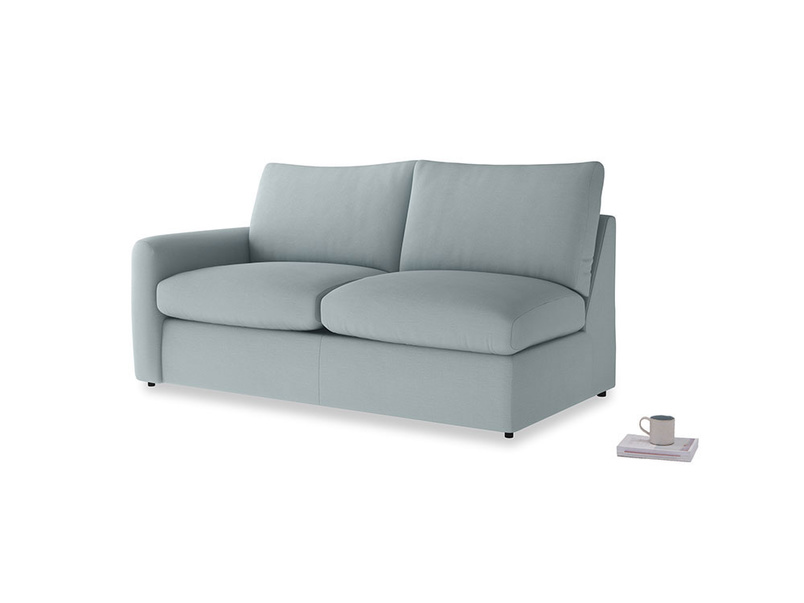 Chatnap Storage Sofa in Quail's egg clever linen with a left arm