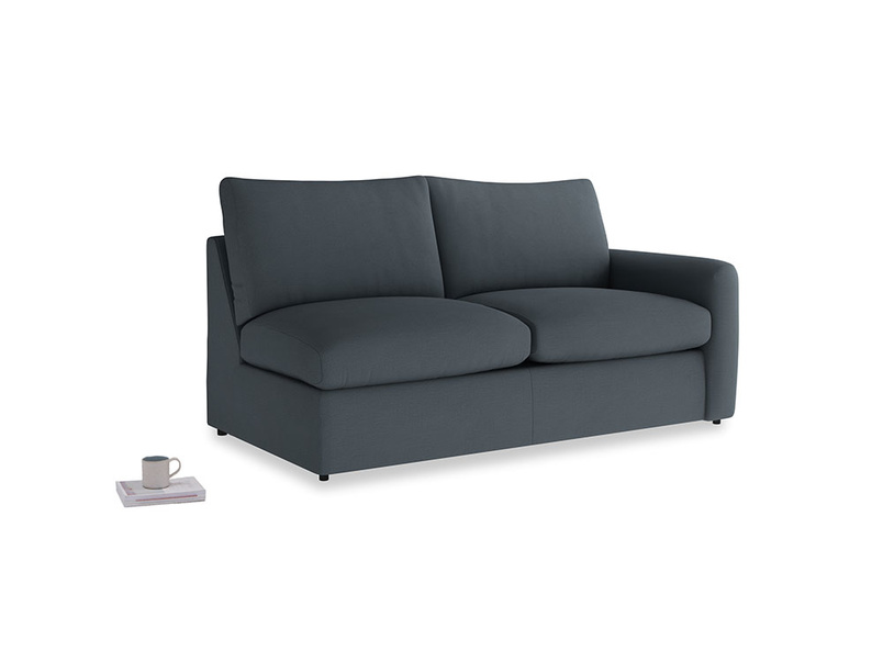 Chatnap Storage Sofa in Lava grey clever linen with a right arm