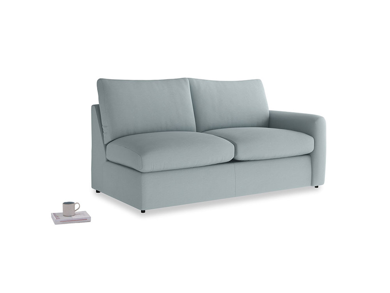 Chatnap Storage Sofa in Quail's egg clever linen with a right arm