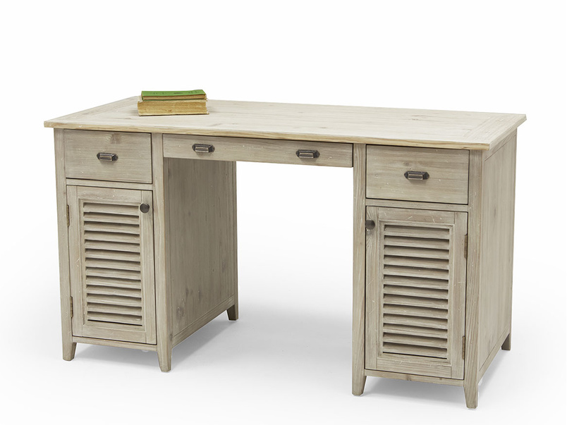 Scribble pedestal desk