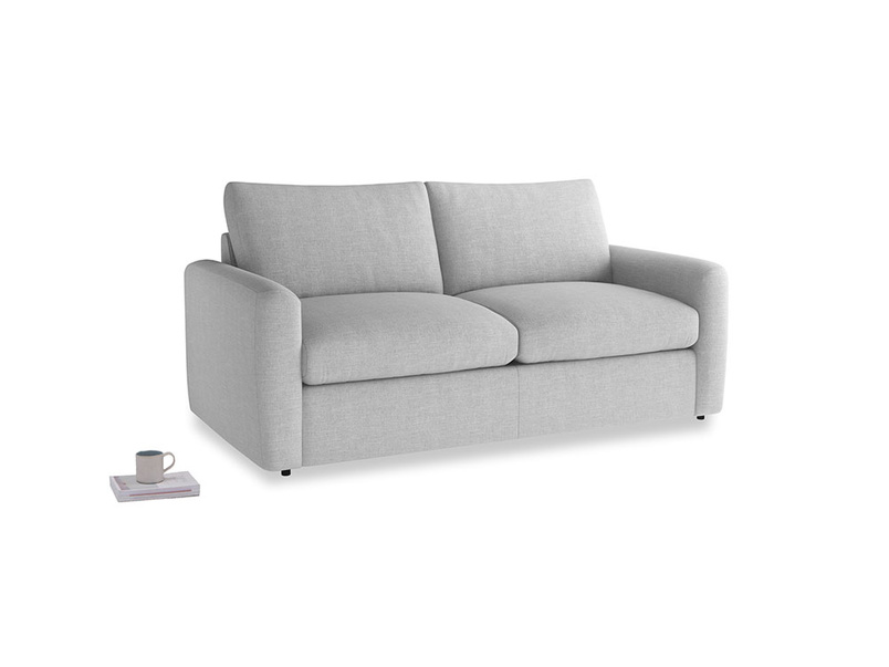 Chatnap Sofa Bed in Cobble house fabric with both arms